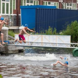 zwemmen Leiden swim-in