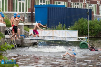 zwemmen Leiden swim-in
