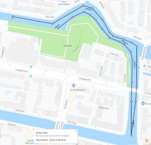 Route Speedo Swim-in Leiden